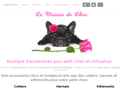 Détails : Collier pour chiot : La Maison de Lilou