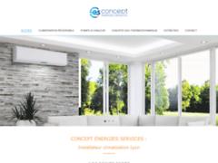 Concept Energies Services, installateur de climatisation, pompe a chaleur