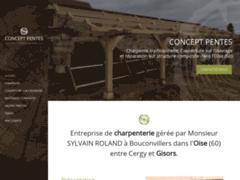 Concept pentes: Couvreur charpentier à CHAUMONT-EN-VEXIN