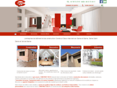 Création du site Internet de CONSTRUCT DECO (Entreprise de Entreprise générale à ORLY-SUR-MORIN )