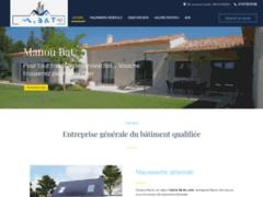 Création du site Internet de Manou Bat (Entreprise de Constructeur de maison à MANOU )