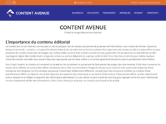 Détails : Content Avenue