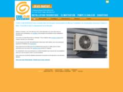Création du site Internet de Cool Clim Services (Entreprise de Chauffagiste à CHIEULLES )