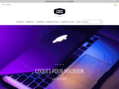 Détails : Coque MacBook