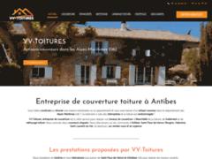 Création du site Internet de VV-Toitures (Entreprise de Couvreur à SAINT PAUL DE VENCE )