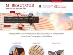 Création du site Internet de M BEAUTOUR (Entreprise de Couvreur à LE CHESNAY )