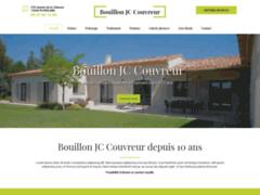 Création du site Internet de Bouillon JC Couvreur (Entreprise de Couvreur à PUYRICARD )