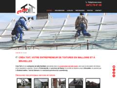 Travaux de toiture en province de Namur | Créa Toit