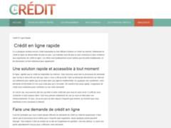 Demander en ligne et rapidement un crédit à la consommation