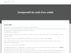Détails : Fintch - Crédit Neobanque, Comparatif du Coût d'un Crédit