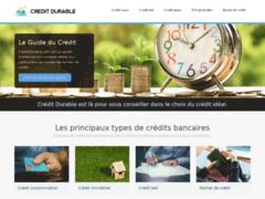 Détails : Crédit Durable : emprunter au meilleur taux d'intérêt