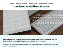 Crédit pour fiché bancaire