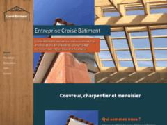 Création du site Internet de Croisé Batiment (Entreprise de Couvreur à VAL DES VIGNES )