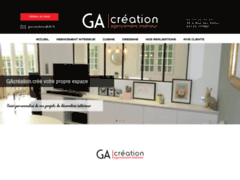 Création du site Internet de G&A CREATION (Entreprise de Cuisiniste à CEYRAT )