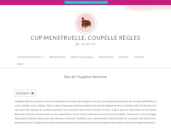 Coupe menstruelle confortable