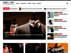 Détails : Dandychic Noeud papillion et boutons de manchette