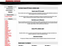 Détails : annuaire validation automatique