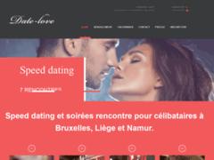Date-love.be speed-dating et activité pour célibataires