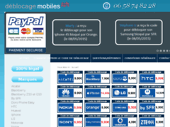 Détails : Déblocage mobiles