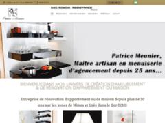 Création du site Internet de Dec-Mobois (Entreprise de Menuisier à ALES )