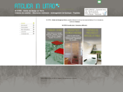 Création du site Internet de atelier in vitro (Entreprise de Vitrier à BALMA )