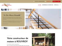 Création du site Internet de Demeures les Rouvroysiennes (Entreprise de Constructeur de maison à ROUVROY )