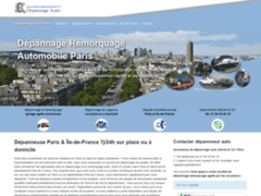 Détails : Entreprise de remorquage et de dépannage en région parisienne