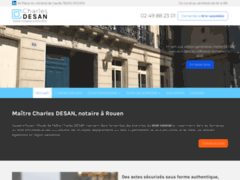Maître Charles DESAN, notaire à Rouen en Normandie