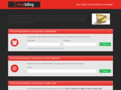 Détails : Gestionnaire de transactions bancaires