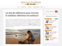 Détails : détecteur de métaux pour chercheur d'or