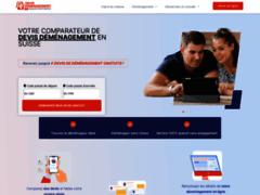 Entreprise de déménagement basée à Lausanne en suisse