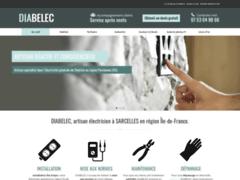 Création du site Internet de DIABELEC (Entreprise de Electricien à SARCELLES )
