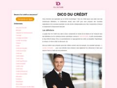 Détails : Dico du crédit