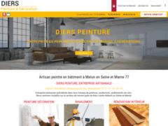 Création du site Internet de Diers Hervé (Entreprise de Peintre à SERVON )