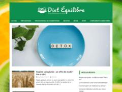 Détails : Dietequilibre.com : de bons conseils pour votre bien-être