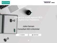 Aperçu de marché du référencement SEO à Montréal avec djiinn