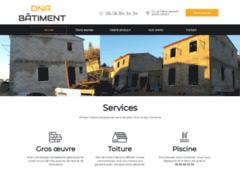 Création du site Internet de aimé dingao nadji (Entreprise de Constructeur de maison à NIMES )