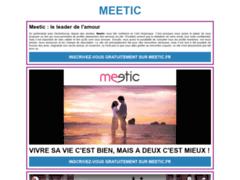 Détails : Meetic : contactez des célibataires
