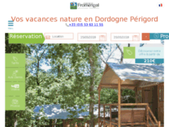 Camping Domaine de Fromengal Le Buisson de Cadouin en dordogne périgord noir