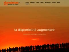 Domainium.fr : mise en vente de noms de domaine premiums