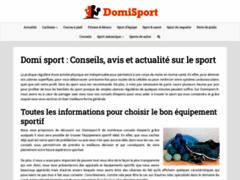 Domisport : magazine sport et mode