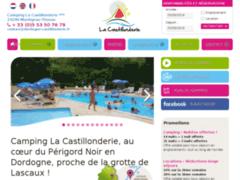 Camping La Castillonderie Montignac Thonac en dordogne périgord noir