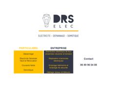 Création du site Internet de DRS Elec    (Entreprise de Electricien à MEYZIEU )