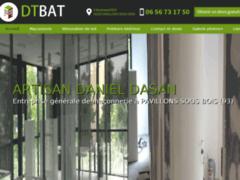 Création du site Internet de DT BAT  (Entreprise de Entreprise générale à PAVILLONS SOUS BOIS )