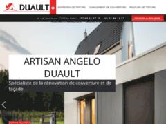 Création du site Internet de Artisan DUAULT (Entreprise de Couvreur à LE MANS )