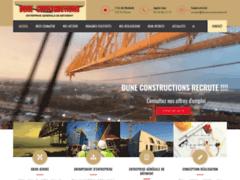 Détails : Dune Constructions