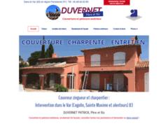 Création du site Internet de DUVERNET Père et fils (Entreprise de Couvreur à CHAMPLAN )