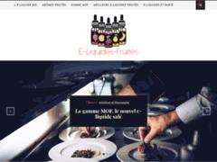 Tout savoir sur les E-liquide fruits