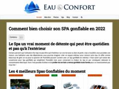 Détails : Eau et confort tout savoir sur le SPA Gonflable