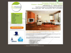 Création du site Internet de EcoHabitat (Entreprise de Plombier à PARIS )
